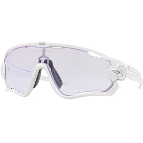 Oakley Jawbreaker Sunglasses Polished White/Prizm Low Light